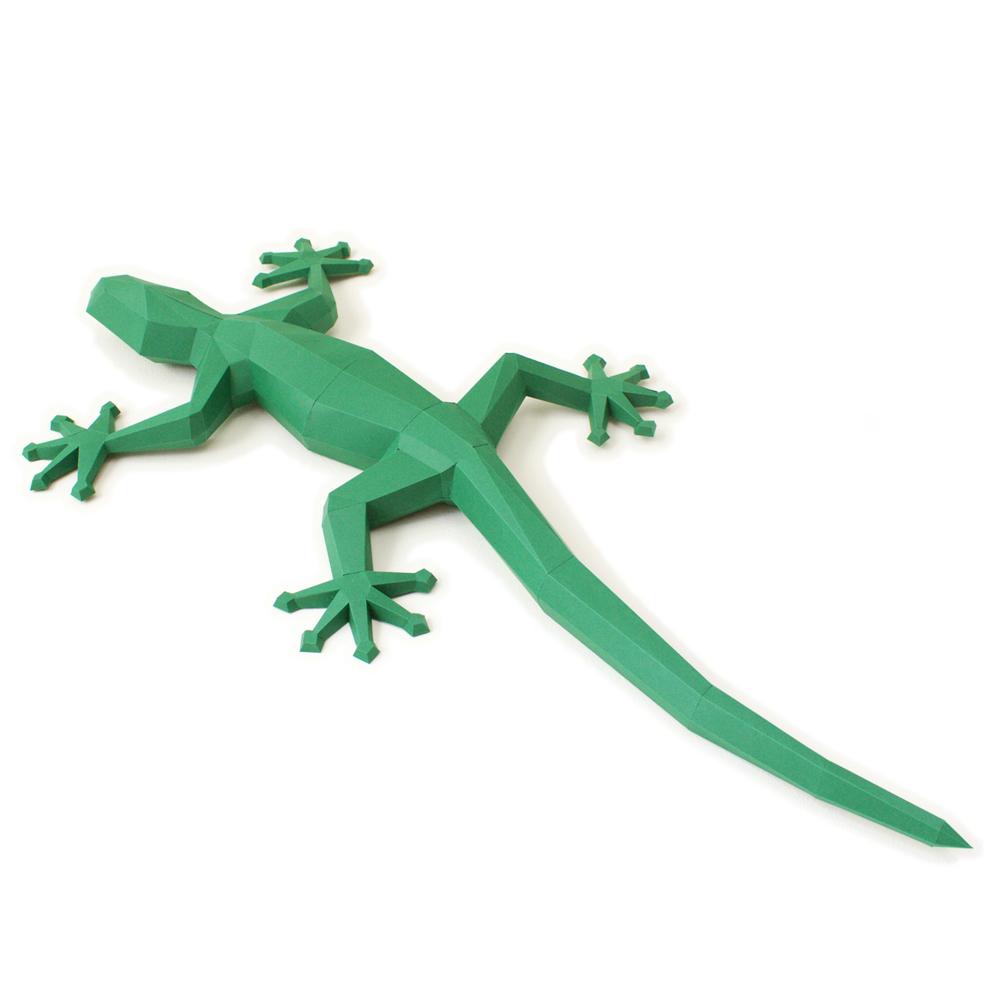 www.papiertier.de Gecko