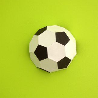 Fußball Bastelbogen Pille