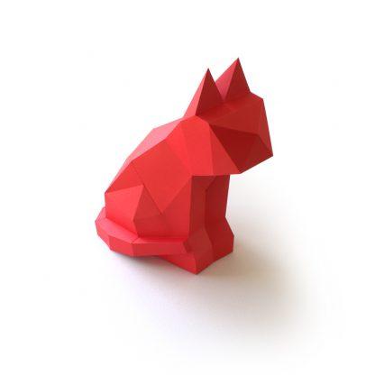 Katze Neko Bastelbogen
